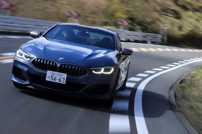 BMWは約20年ぶりに高級クーペ「8シリーズ」を復活させた(写真:荒川正幸、以下同)