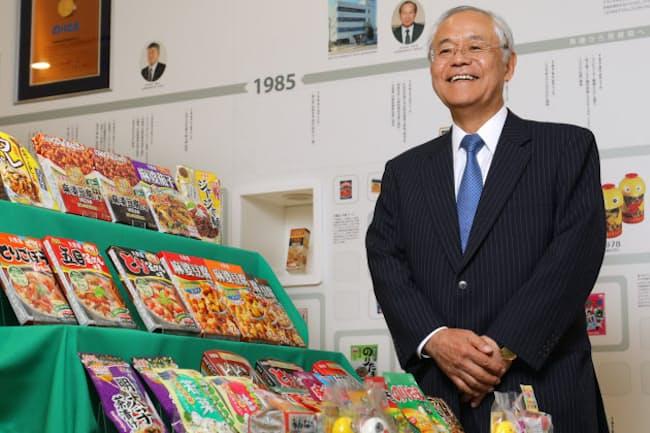 丸美屋食品工業の阿部豊太郎社長は創業者の息子だが、日本長期信用銀行に15年も勤めていた