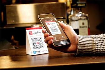 QRコード決済「PayPay」は、100億円を投じた還元策で一気に市場シェアを獲得した