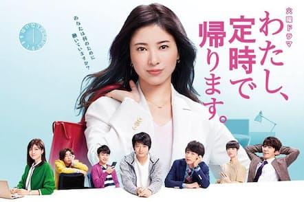 ドラマの中には、社会が求める理想のヒロイン像が描かれる (C)TBS SPARKLE /TBS (C) 2018 朱野帰子/新潮社