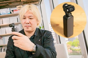 片手で持てるジンバル搭載動画カメラOsmo Pocketを津田大介氏が試した
