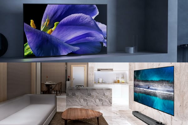 有機ELテレビの新型が各社から出そろった。専門家によると「今年の有機ELテレビは大きな変化があった」という