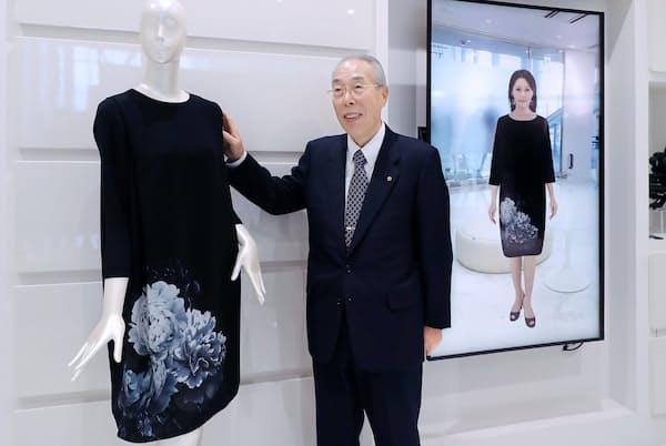 セーレンの川田達男会長兼CEO