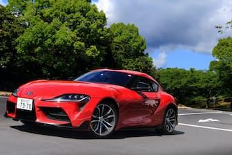 トヨタの代表的なスポーツカー「スープラ」が17年ぶりに復活。独BMWと共同開発した(写真:荒川正幸、以下同)