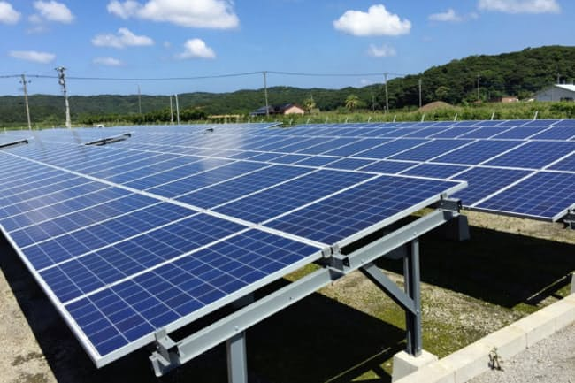 災害時のリスク対策としても、太陽光発電は意味を持つ。写真はイメージ