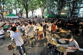 1位の定禅寺ストリートジャズフェスティバル