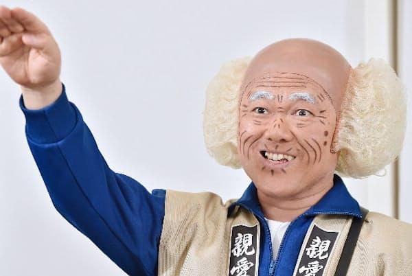 1964年10月8日、大阪府阪南市生まれ。和歌山県立和歌山北高校卒。86年にNSC入学。漫才コンビ「三角公園」解散後の89年に吉本新喜劇入団。「バラエティー生活笑百科」(NHK)などに定期的に出演。「32周年特別公演 辻本新喜劇 inなんばグランド花月7DAYS」は7月31日~8月6日