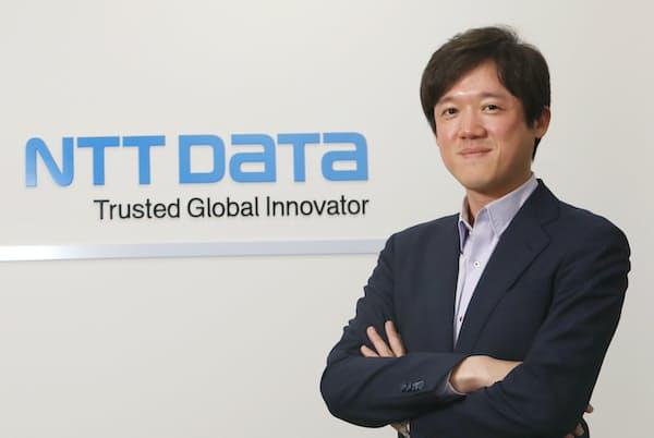 NTTデータ人事本部採用担当部長の髭直樹氏