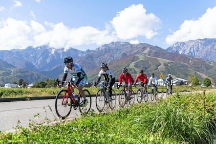 自然を巡るサイクリングは外国人に人気がある