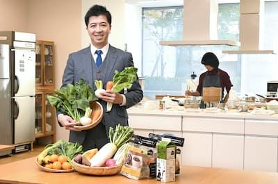 オイシックス・ラ・大地の高島宏平社長