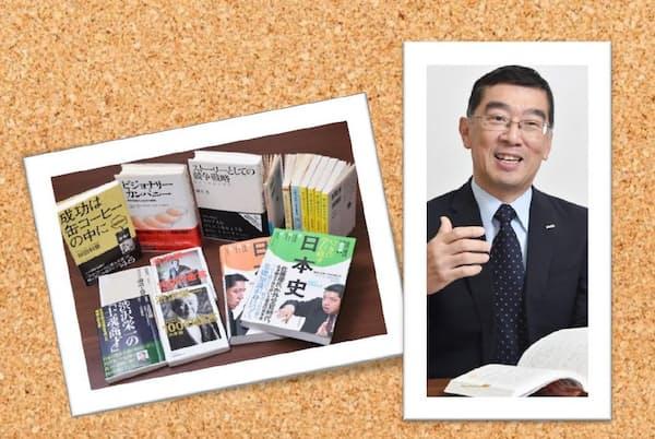 岩田氏と座右の書・愛読書