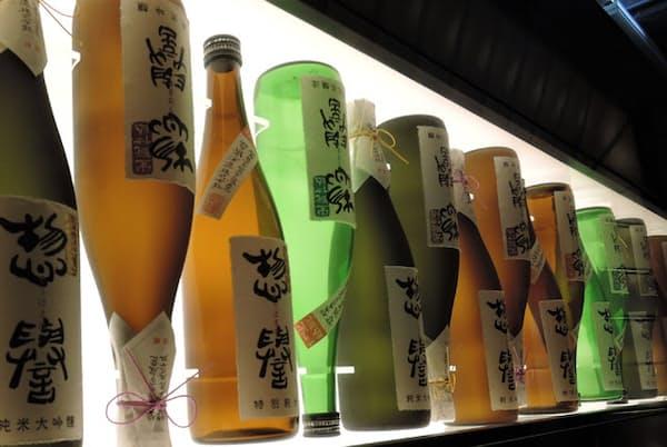 全国新酒鑑評会で9年連続、金賞を受賞している惣誉酒造
