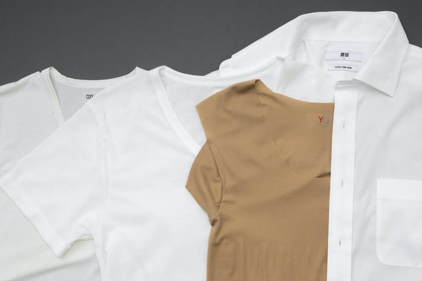 シャツの下に着るインナーも進化している。夏を快適にのりきるための高機能なインナーを紹介する