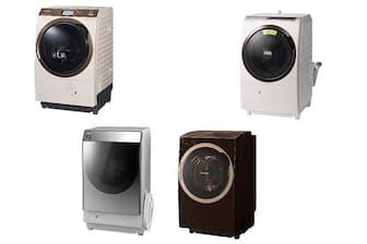 洗濯容量11~12kgクラスの代表モデル4製品を比較した