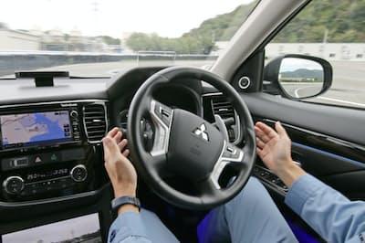 CASEに参入する企業は自動車メーカーにとどまらない(三菱電機の自動運転実験)