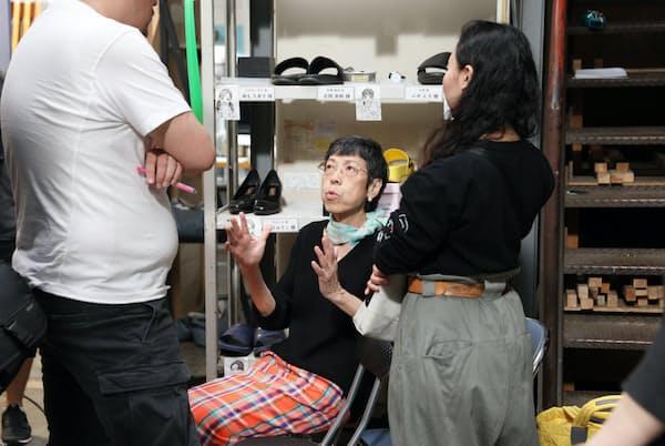 西ゆり子さんは台本を読み解き、ファッションで役の人間性を表現する