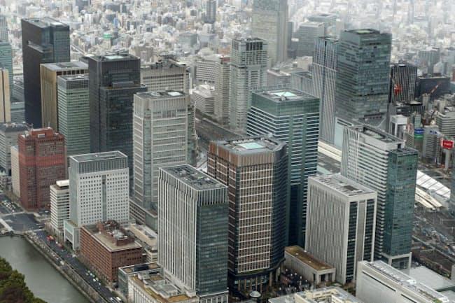 不動産市況はオフィスビルの需要を背景に堅調だ