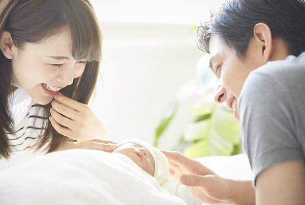 出産・育児でもらえるお金はタイミングで変わってくる(写真はイメージ=PIXTA)