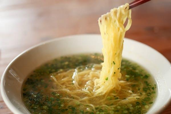 「中国菜 智林」の「智林 清湯麺」