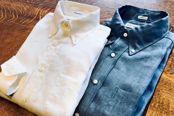 アメカジの代表格の一つ、インディビジュアライズドシャツのリネンシャツ