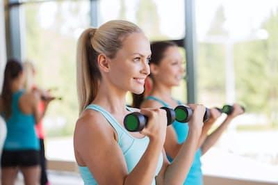 筋トレをする女性は増えているように見えるが…。写真はイメージ= (c)dolgachov-123RF