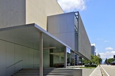 金沢市に開館した谷口吉郎・吉生記念金沢建築館=北嶋 俊治撮影