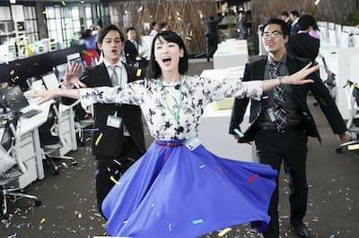 東京・有楽町のTOHOシネマズ日比谷ほかで16日公開(C)2019「ダンスウィズミー」製作委員会