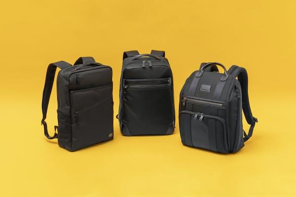 今回から3回にわたり、秋の新作ビジネスバッグを取り上げる。第1回は小型化、薄マチ化が進むビジネスリュックだ