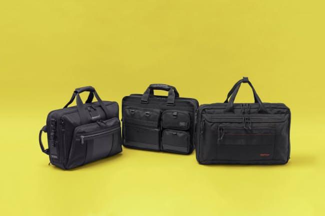 リュック、トートバッグに続いて、秋の新作バッグ特集ではブリーフケースを取り上げる