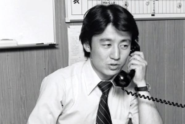 営業部に配属された入社当時の石川氏