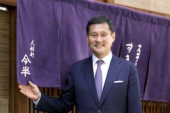 人形町今半社長 高岡慎一郎氏