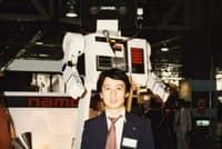 ロボット開発の部署に異動した1981年当時の石川氏