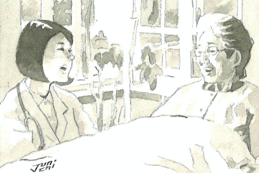 患者が主体的に考える社会になりつつある。在宅ケアはその一つの形だ=イラスト・よしおか じゅんいち