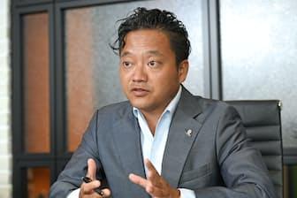 吉村英毅・エボラブルアジア社長