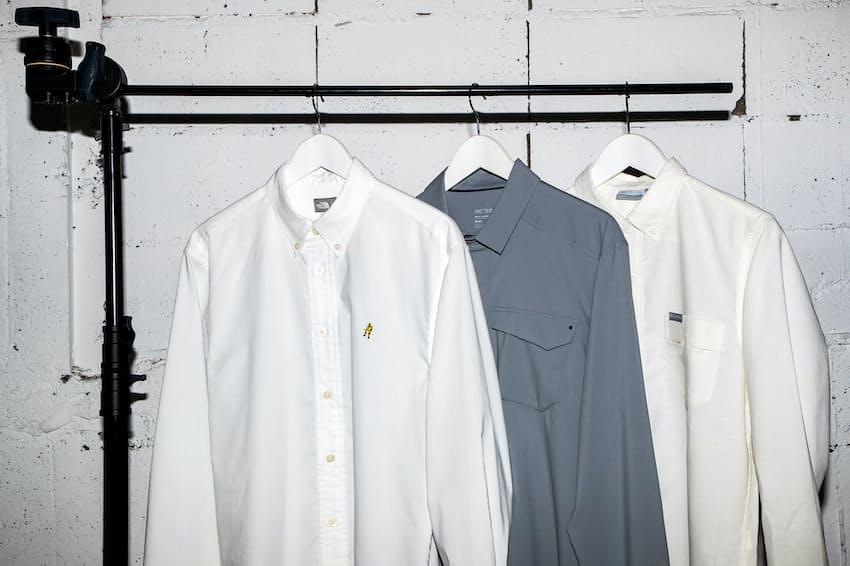 仕事にも取り入れられる、アウトドアブランドのシャツを紹介する