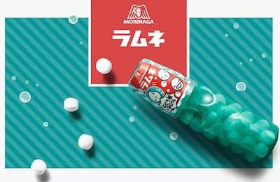 森永製菓のロングセラー商品「森永ラムネ」はブランドに対する認識とのギャップによって再び大ヒットした