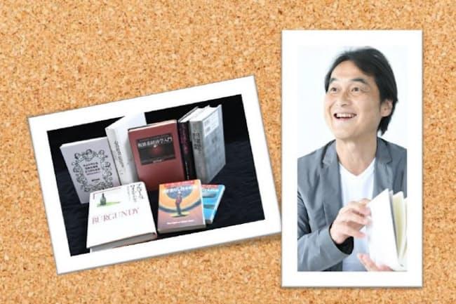 夏野氏と座右の書・愛読書