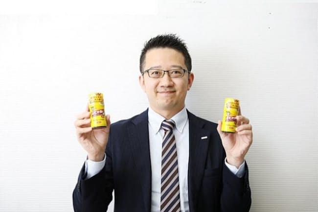 ハウス食品 新領域開発部 3グループ グループ長の黒部史明さん