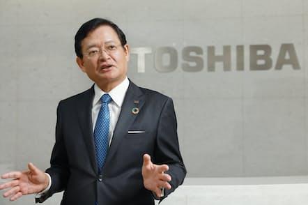 車谷暢昭・東芝会長