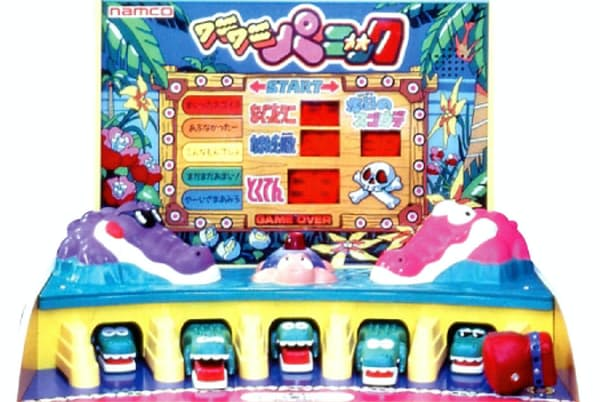 石川氏が開発した「ワニワニパニック」は大ヒットした(C)BANDAI NAMCO Entertainment Inc.