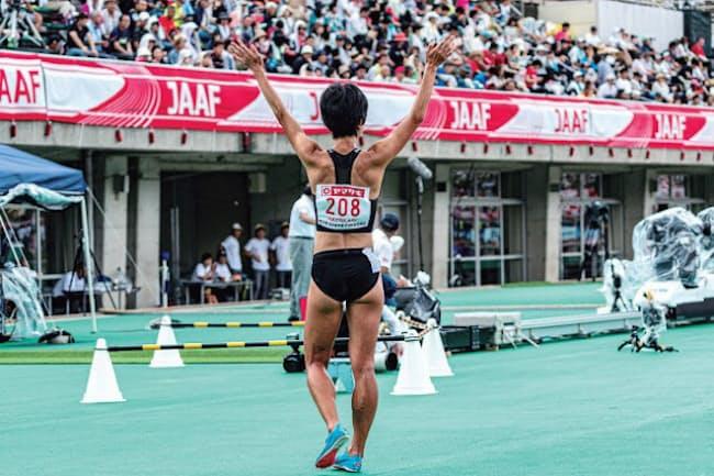 陸上競技女子3000メートル障害で日本記録保持者の早狩実紀さん