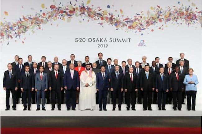 現代の特徴はグローバリゼーションと「自国第一主義」のせめぎ合い(6月のG20大阪サミット)