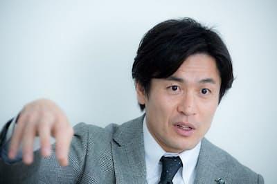 元ラグビー日本代表の大畑大介さん(写真 厚地健太郎)