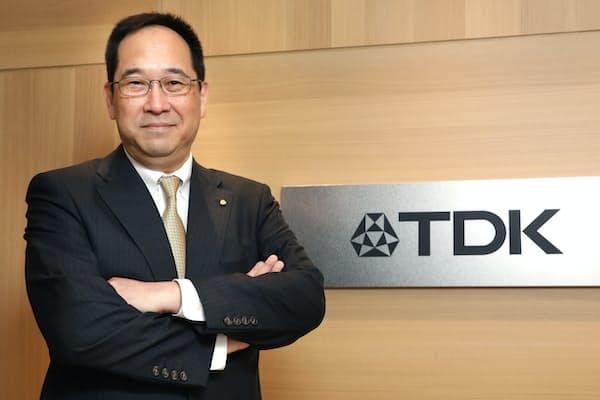 TDKの石黒成直社長
