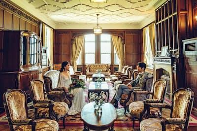 ジェームス邸は5人から80人程度のパーティーに対応できる(神戸市)