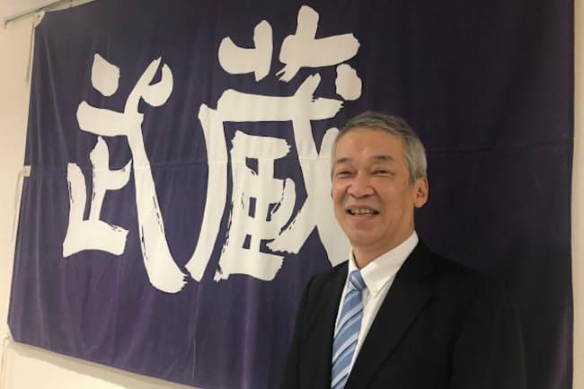 2019年4月に就任した武蔵高等学校中学校の杉山剛士校長