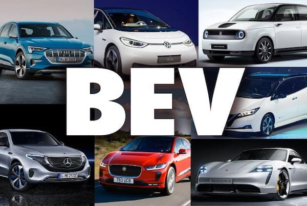 電気モーターだけを搭載する電気自動車(BEV)。今後はどうなっていくのか