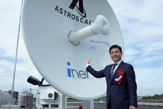 アストロスケールを起業した岡田光信CEO
