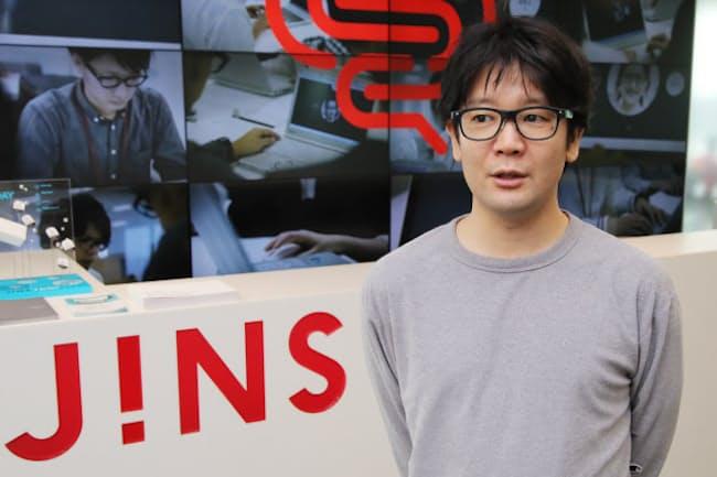 ジンズThink Labグループ統括リーダーの井上一鷹氏