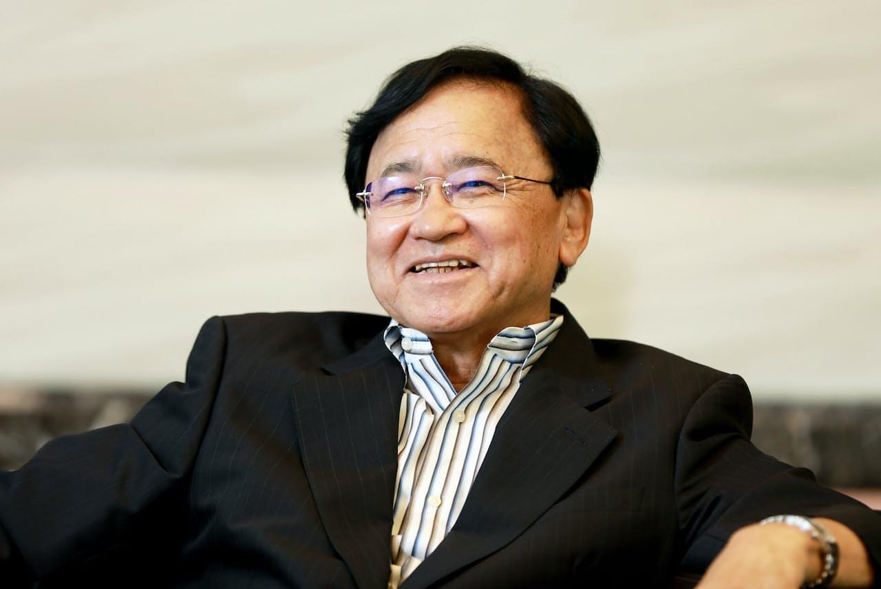 「哲人経営者」と呼ばれることもある小林喜光・三菱ケミカルホールディングス会長